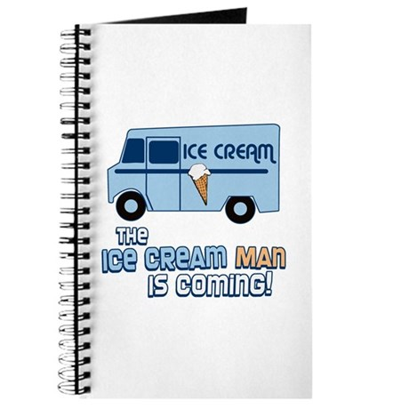 Ice Cream Man Journal