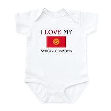 I Love My Kyrgyz Grandma Infant Bodysuit