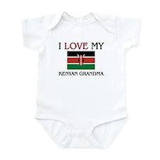 I Love My Kenyan Grandma Infant Bodysuit