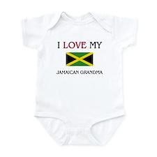 I Love My Jamaican Grandma Infant Bodysuit