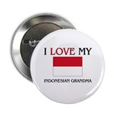 "I Love My Indonesian Grandma 2.25"" Button (10 pack"