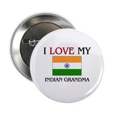 "I Love My Indian Grandma 2.25"" Button (10 pack)"