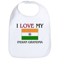 I Love My Indian Grandma Bib