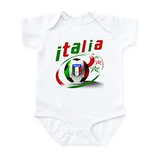 Italia Soccer World Sports Infant Bodysuit