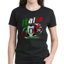Italia Soccer World Sports Tee