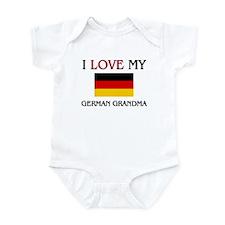 I Love My German Grandma Infant Bodysuit