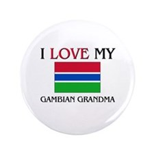 "I Love My Gambian Grandma 3.5"" Button"