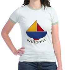 Cute Sailboat Design T