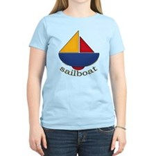 Cute Sailboat Design T-Shirt