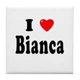 BIANCA Tile Coaster