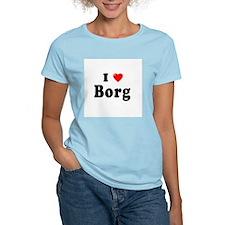 BORG Womens Light T-Shirt