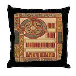 Celtic Illumination Throw Pillow