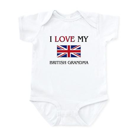 I Love My British Grandma Infant Bodysuit