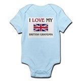 I Love My British Grandma Infant Bodysuit