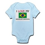I Love My Brazilian Grandma Infant Bodysuit