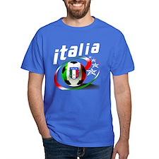 Italia Soccer World Sports T-Shirt