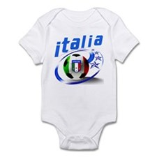 Italia Soccer World Sports Infant Bodysuit