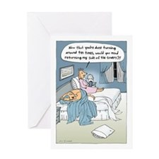 """The Marriage Bed"" Greeting Card"