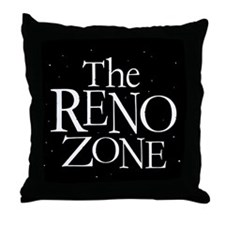 THE RENO ZONE Parody Souvenir Throw Pillow