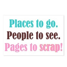 Pages to Scrap! Postcards (Package of 8)