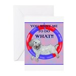 Agility Clumber Spaniel Greeting Cards (Pk of 20)
