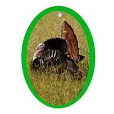 Big Tom Turkey Oval Ornament