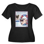 Agility Chinese Pugs Women's Plus Size Scoop Neck