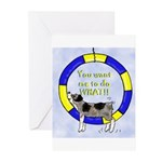 Silly Aussie Agility Greeting Cards (Pk of 20)