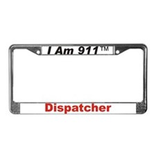 I Am 911 License Plate Frame
