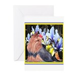 Unique Yorkshire Terrier Greeting Cards (Pk of 20)