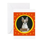 Chihuahua Puppy Greeting Cards (Pk of 20)