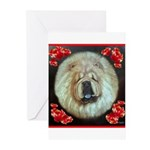 Chinese Chow Chow Greeting Cards (Pk of 20)