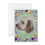 Clumber Spaniel Greeting Cards (Pk of 20)