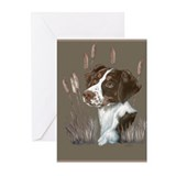 Brittany Spaniel Greeting Cards (Pk of 20)