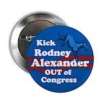Kick Rodney Alexander Out of Congress pin