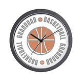 Basketball Granddad Wall Clock