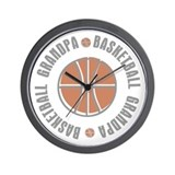 Basketball Grandpa Wall Clock