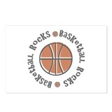 Basketball Rocks Postcards (Package of 8)