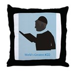 World's best Sabba (Heb) Throw Pillow