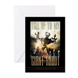 Tell it to My Giant Robot Greeting Cards (10 pack)