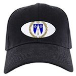 DUBEY Family Crest Black Cap