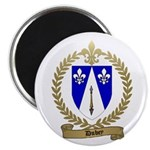 "DUBEY Family Crest 2.25"" Magnet (10 pack)"