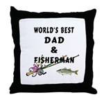 World's Best Dad Throw Pillow