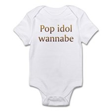 Pop Idol Wannabe Infant Bodysuit