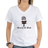 Aunt of the Bride Pink Cake Shirt