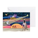 XmasStar/G Dane (f) Greeting Cards (Pk of 20)
