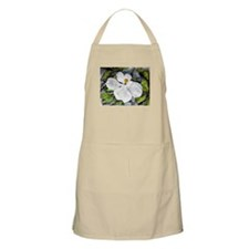 Magnolia tree flower art wate BBQ Apron