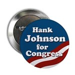 Hank Johnson for Congress campaign button