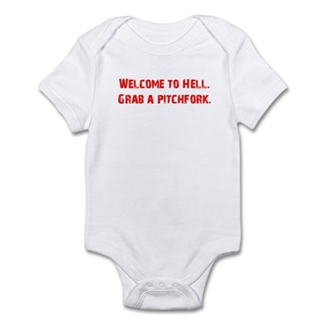 Welcome to Hell Infant Bodysuit