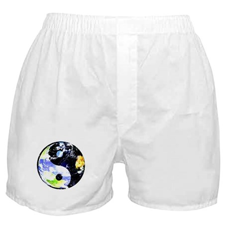 A Ying Yang World Boxer Shorts
